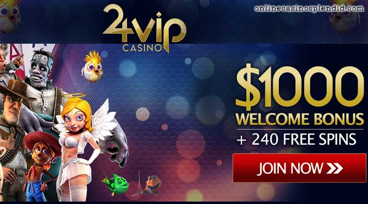 24Vip casino review bonus
